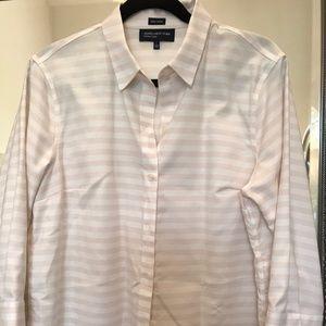 Jones NewYork no iron blouse